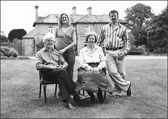 The O'Hara Family - Katy, Warwick, Pat and Anne